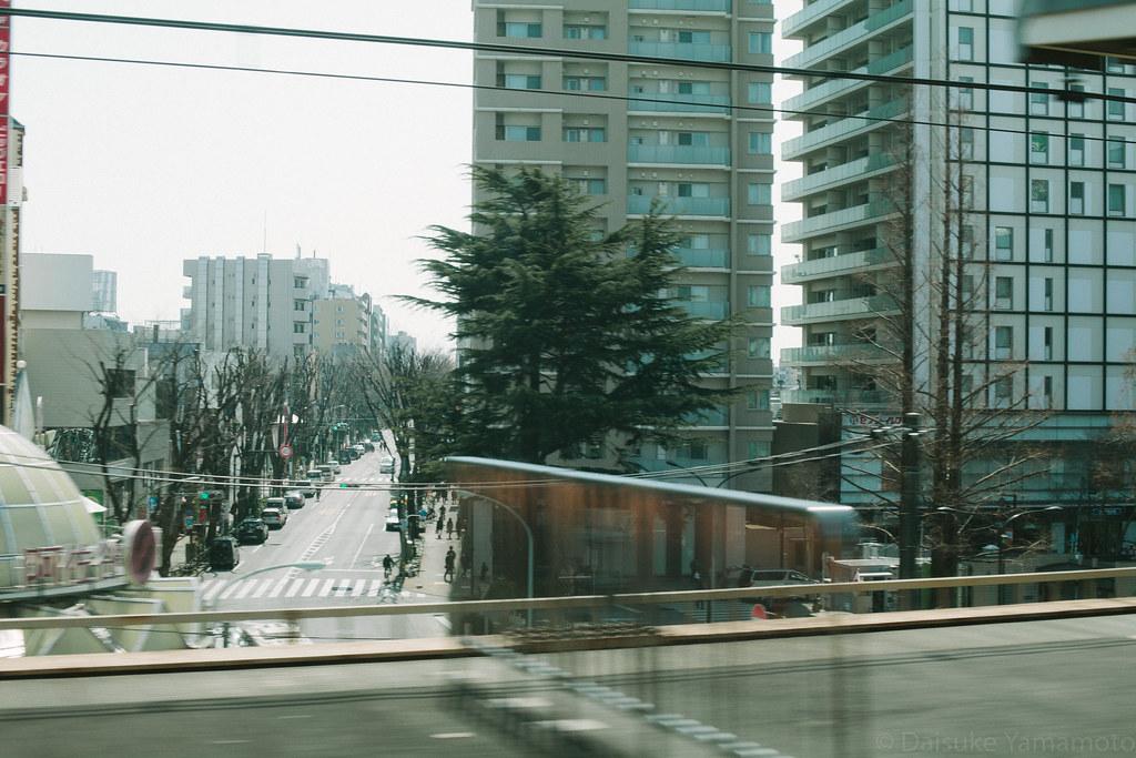阿佐ヶ谷駅通過