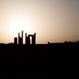 One of the most stunning places I've ever been to😍 Persepolis, shiraz 2017 #Iran #travelling #sunset #photography #Canon #greatplaces