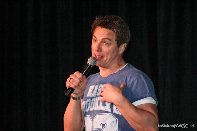 John Barrowman at MegaCon 2014