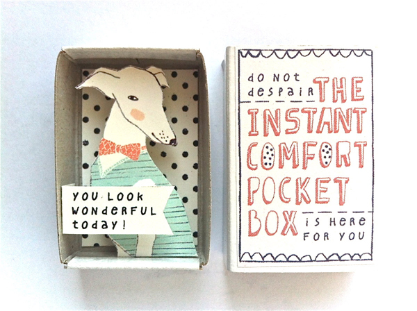 spring things I'm loving right now (The Instant Comfort Pocket Box by Kim's Little Monsters) | Emma Lamb