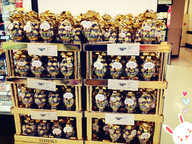 Visiting Sydney: Ferrero Rocher Easter Chocolate