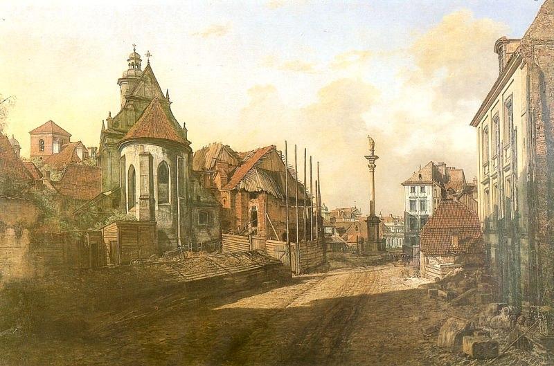 十八世纪华沙风景画4