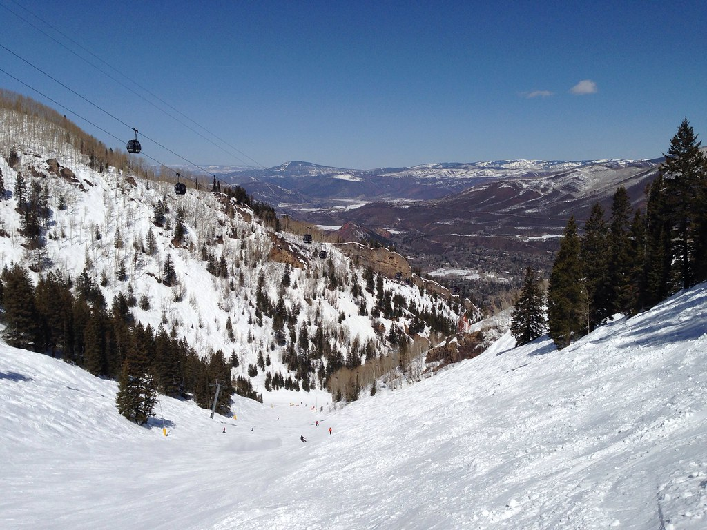 Snowboarding at Copper Bowl
