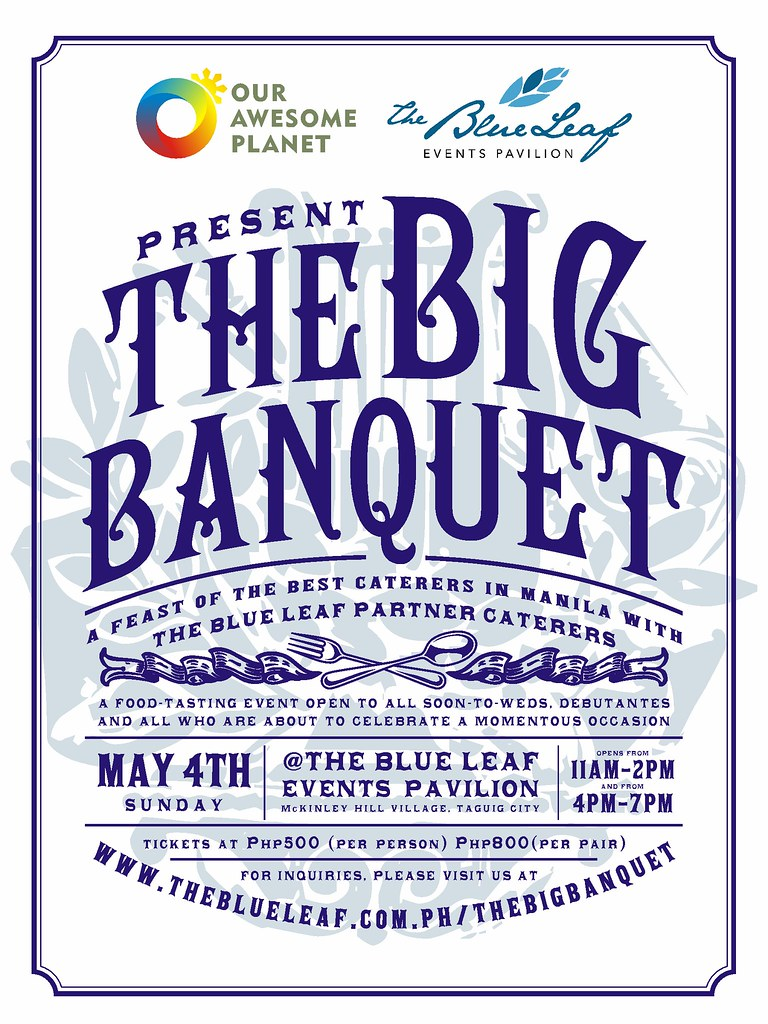 The Big Banquet final poster