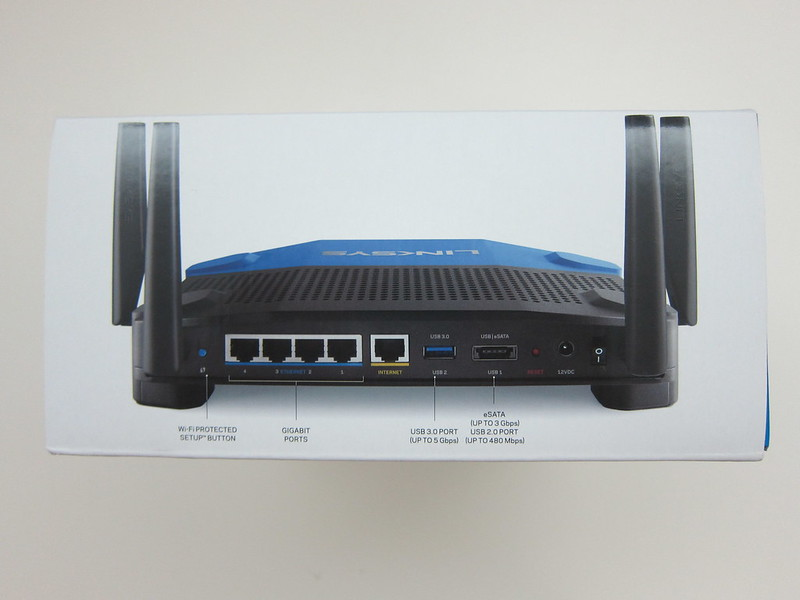 Linksys WRT1900AC - Box Left