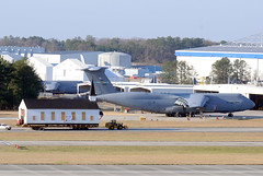 aviation, airplane, vehicle, cargo aircraft, military transport aircraft, jet aircraft, lockheed c-5 galaxy, aircraft engine, air force,