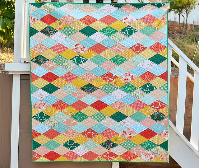 verdant finished quilt