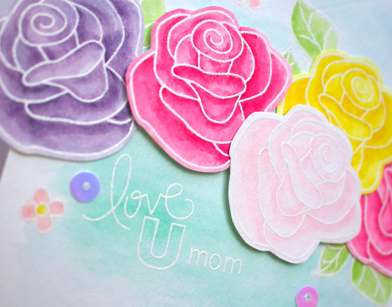 NEWTON'S NOOK DESIGNS Roses For Mom Card 2
