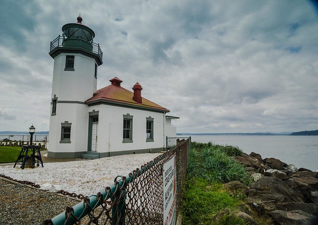 Alki Lighthouse West Seattle