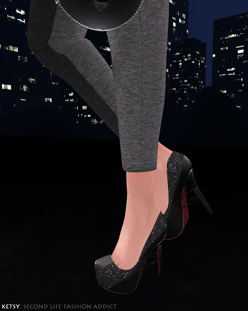Friday Night City - FLF, New Post @ Second Life Fashion Addict