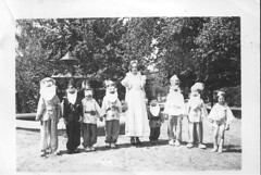 Snow White and The Seven Dwarves at Castlemaine c 1938