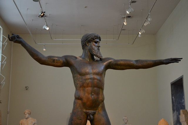 Artemision Zeus or Poseidon, c. 460 BC, Archaeological Museum of Athens