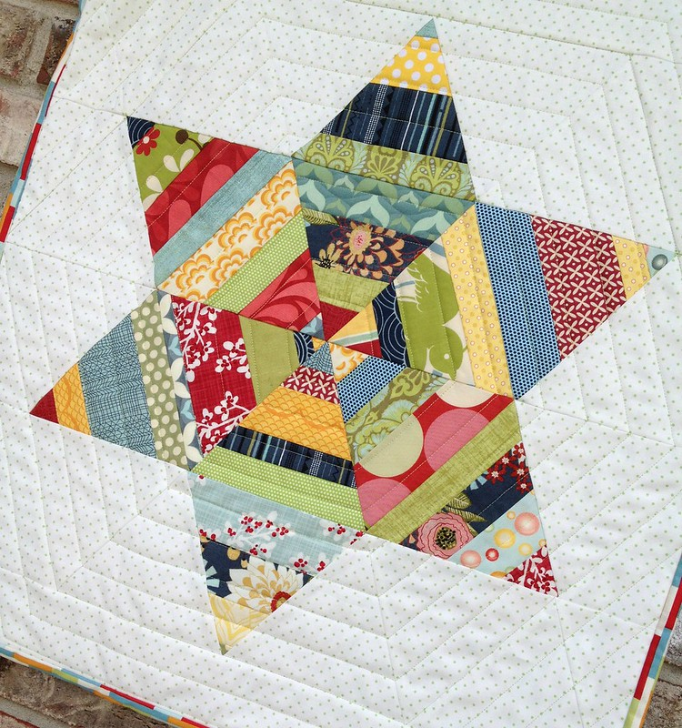 Adorn quilting detail