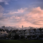 The Seven Sisters (Painted Ladies) at Sunrise.