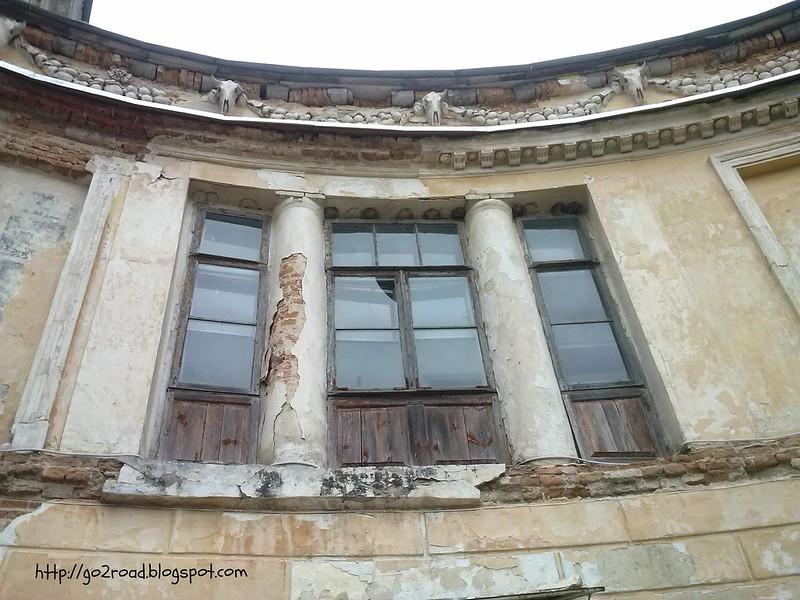 Имение в Вороновице в плохом состоянии