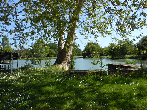 View behind our B&B in Blere