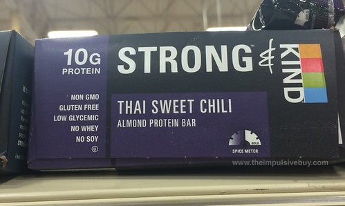 Strong & Kind Thai Sweet Chili Almond Protein Bar