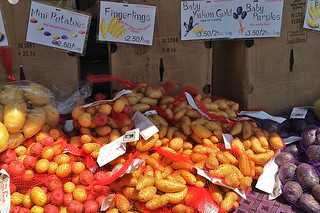 Ferry Plaza Farmers Market - Potatoes