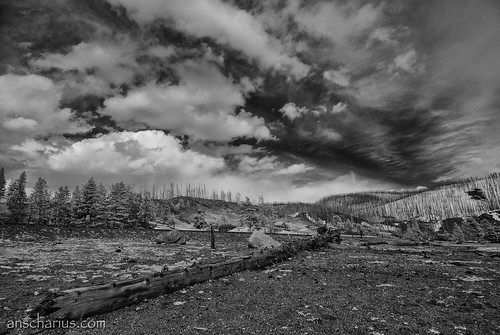 Yellowstone NP #2 - Nikon 1 V1 - Infrared 700nm & 6,7-13mm