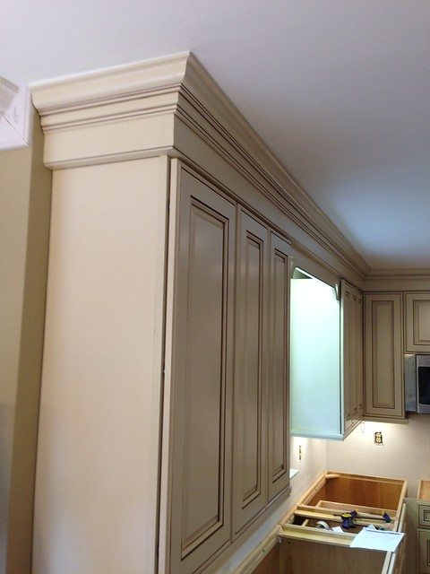 14201574161 6edc9cd775 for Installing crown molding for kitchen cabinets