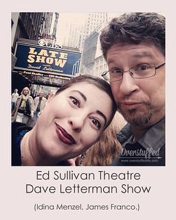 NYC Selfie Dave Letterman Show