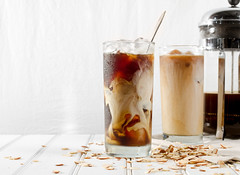 Toasted Almond Iced Coffee
