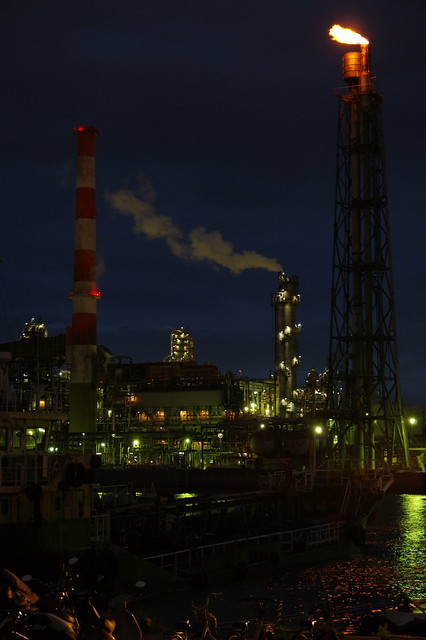 Nightscape at Kawasaki Industrial Zone 01