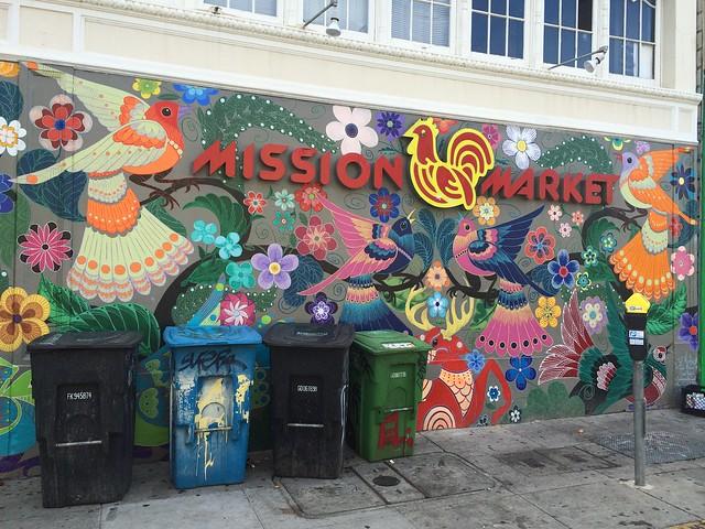Mission Market mural