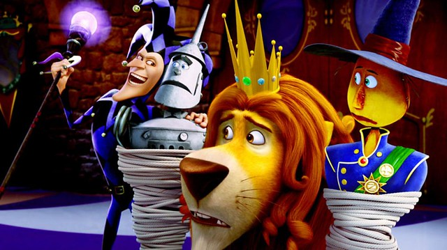 The Jester, Tin Man, Lion &Amp;