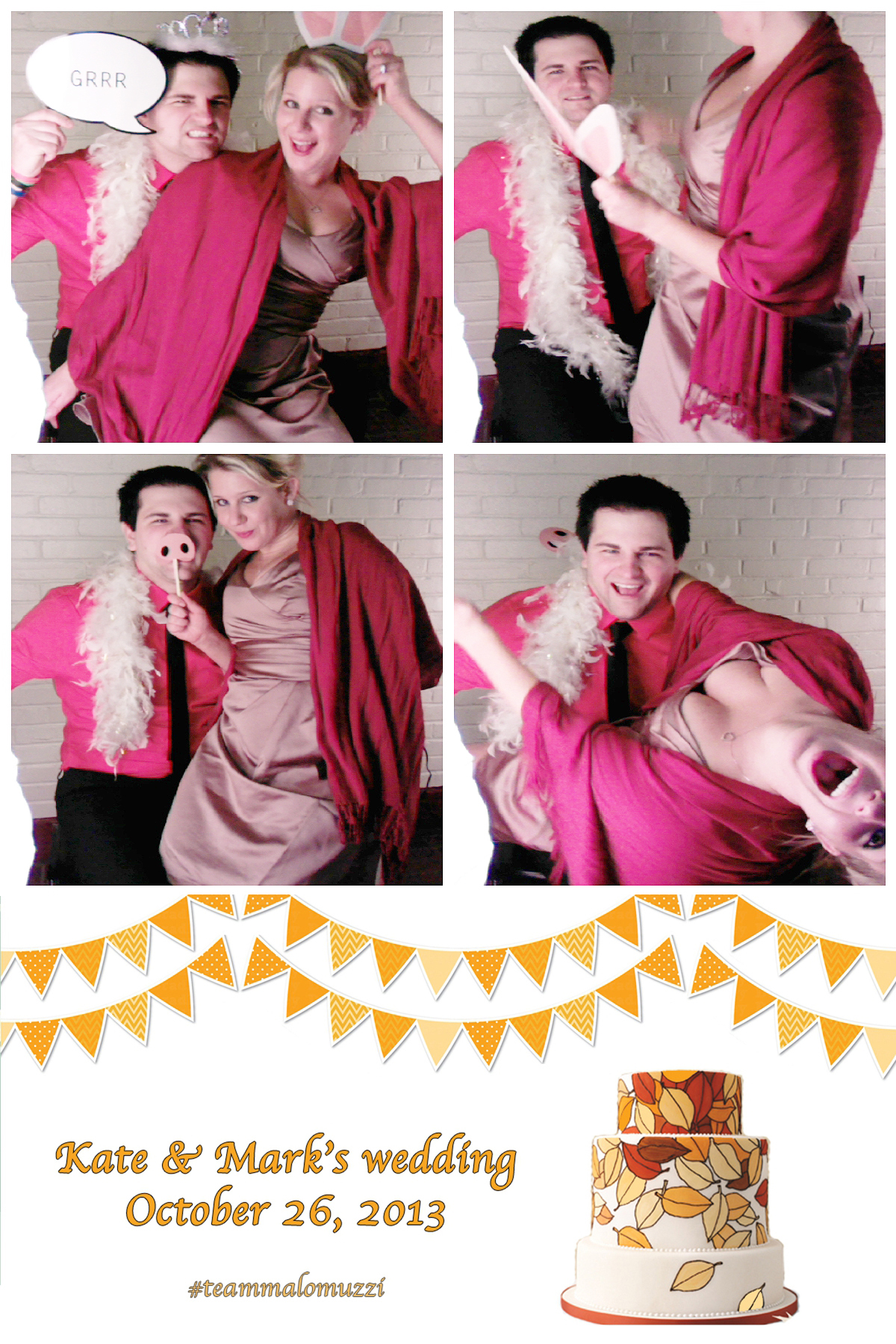 Lauren&Chris@PhotoBooth
