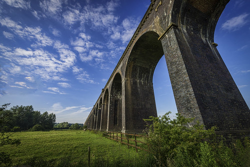 bridge sky neck day angle very cloudy you tripod curves go wide perspective railway viaduct makes oooh ache lightroom helped