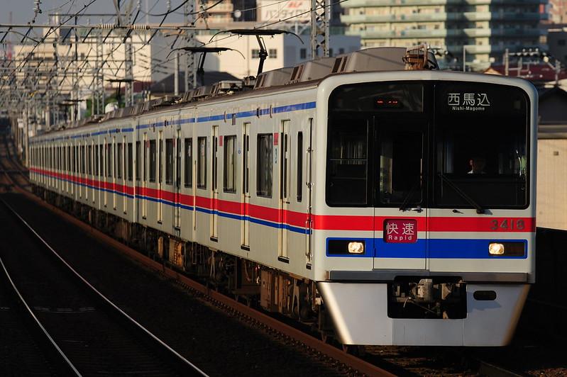 1656K 3418 Rapid Nishi-Magome