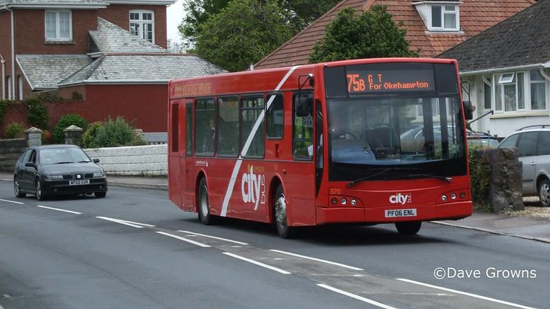 Plymouth Citybus 370 b