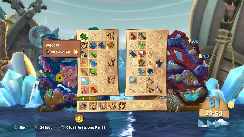 Worms Battlegrounds PS4 2