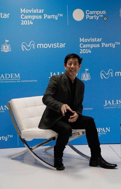 Grant Imahara en Movistar Campus Party 2014