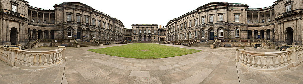 Old College Panorama