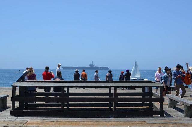 USS Ronald Reagan, Santa Barbara