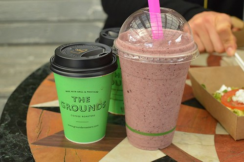 The Grounds of Alexandria: Coffee, coconut kale shake