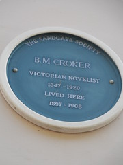 Photo of Bithia Mary Croker blue plaque