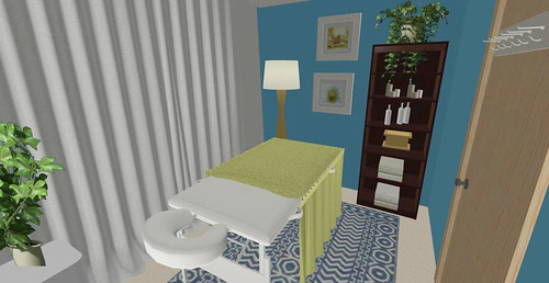Virtual Design - Massage Therapy Room