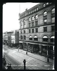 Buildings on west side Washington Street, Boylston Building