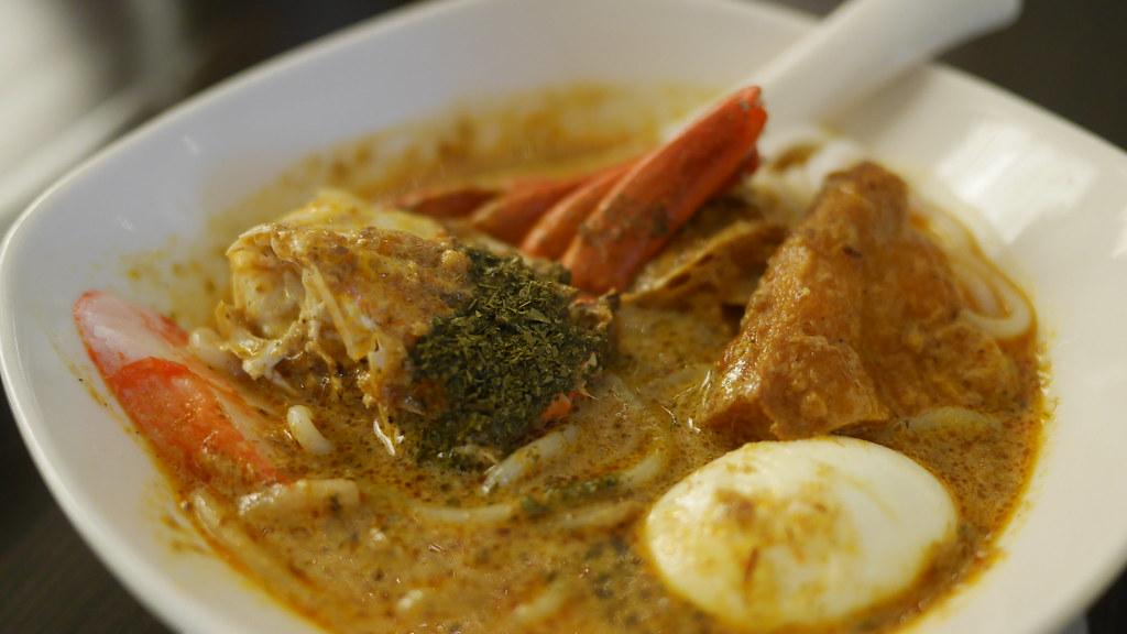 Laksa crab
