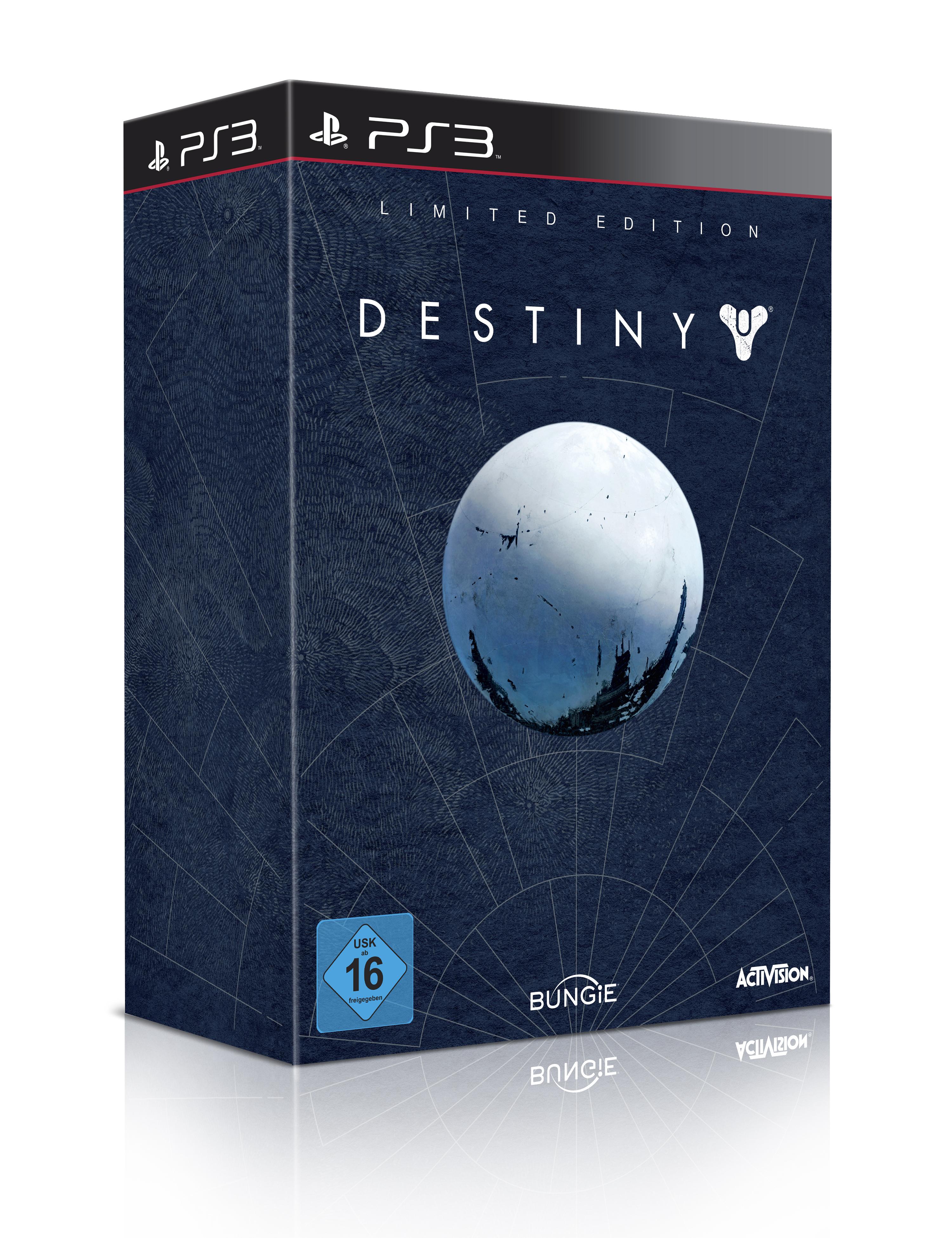 Destiny Limited Edition Packshot 3D