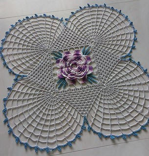 Square Center Doily