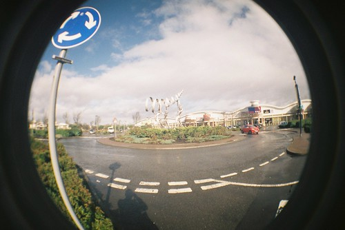 Roundabout display