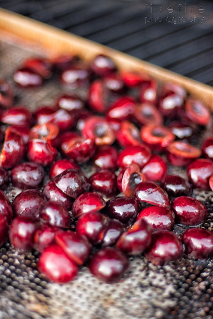 Grilling Cherries