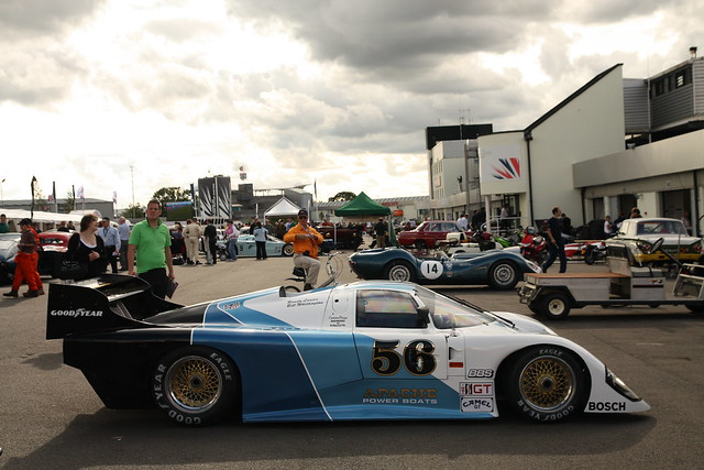 The Jochen Mass/Jacky Ickx Trophy Races for Group C Cars.