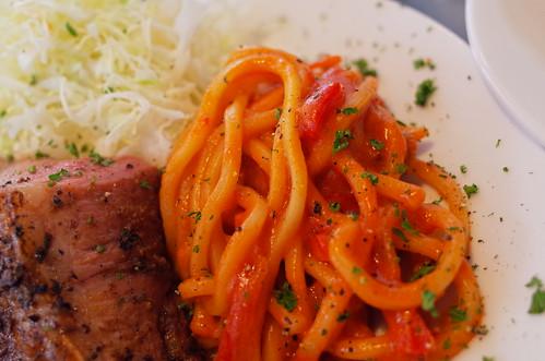 Neapolitan spaghetti