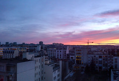 Sunset over Vanves