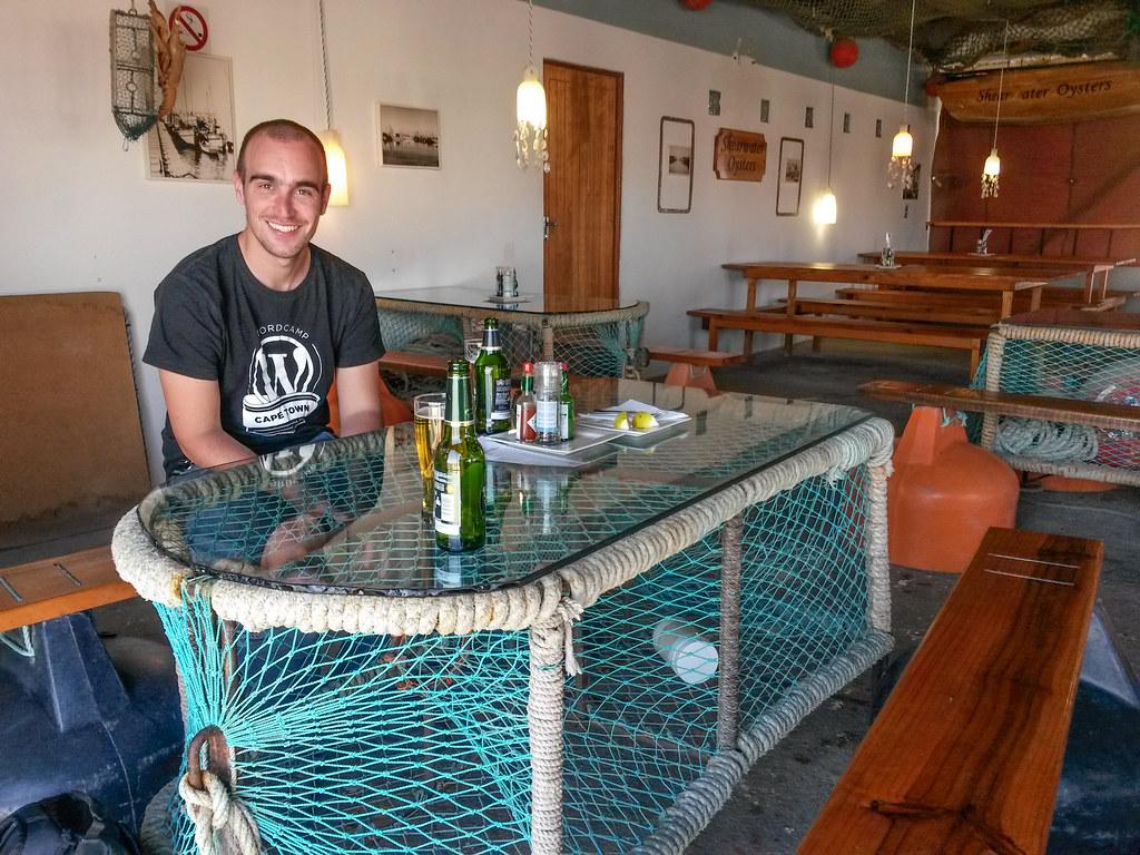 Oyster Bar, Luderitz, Namibia
